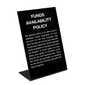 Compliance Countertop Signs