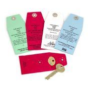 Safe Deposit Box Key Envelopes