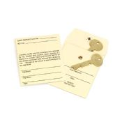 Permanent Lock Style Key Envelopes