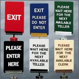 Acrylic Stock Post Signs