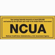 NCUA Decals and Stickers