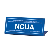NCUA Signs