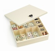 Plastic Currency Drawer Trays