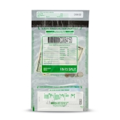 Eco STAT Split Bank Deposit Bag