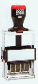 Heavy Duty (Self-Inking) Line Dater Stamps
