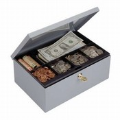 Cash Box w/Security Lock