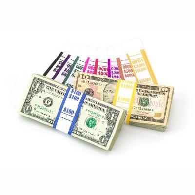 Currency Bill Straps - WhiteKraft Blank
