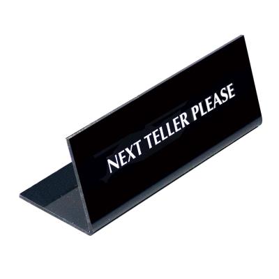 Next Teller Please 1 - Sided