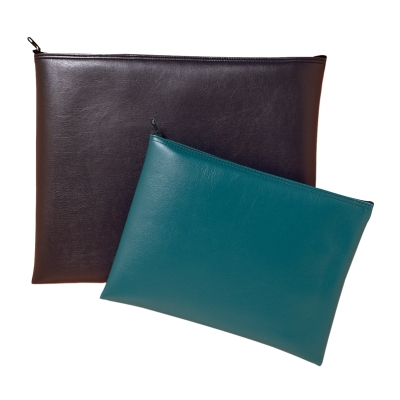 Leatherette Portfolio Bank Bag