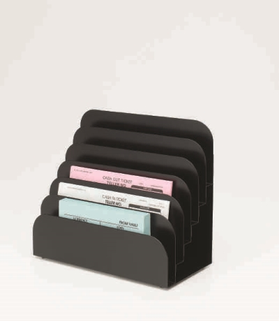 6 Pocket Teller Pad Rack