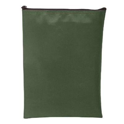 Laminated Nylon Vertical Zipper Wallet Bank Bag