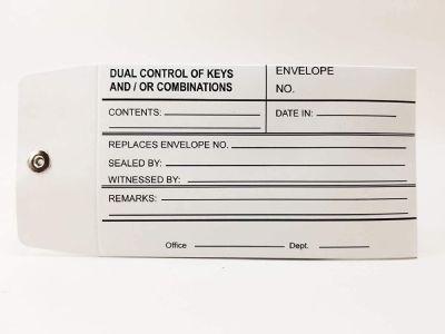 Bank Key Envelope