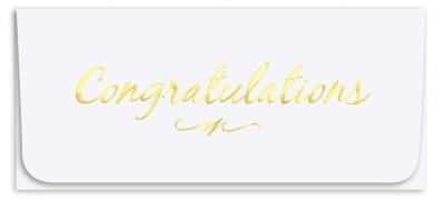 """Congratulations"" Currency Envelope"