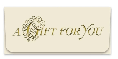 """""""A Gift For You"""" Currency Envelope"""