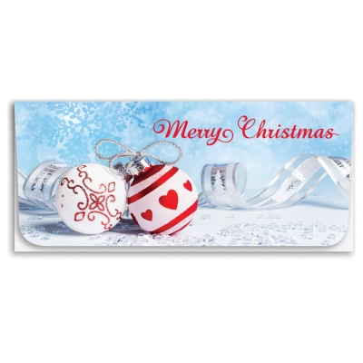 """""""Merry Christmas"""" Currency Envelope- Ornaments"""