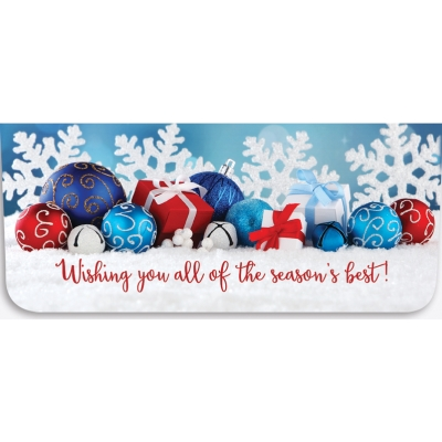 """""""Wishing You All"""" Currency Envelope - Ornaments"""