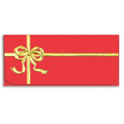 Red Gift Currency Envelope