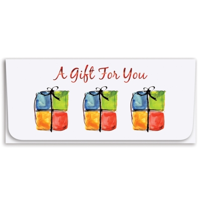 """A Gift For You"" Currency Envelope - Three Gifts"