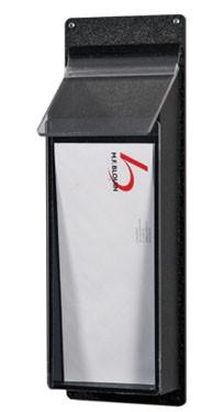 1 Pocket Pamphlet Dispenser - Black