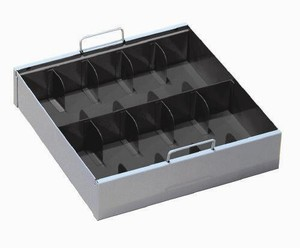 Currency Tray w/Cover - 10 Compartment