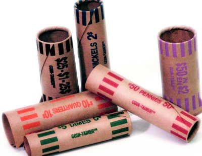 Crimped End Coin Wrappers