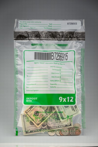 ECO Stat Deposit Bag - Clear