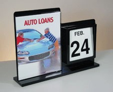 All-In-One Display w/ Sign Holder & Calendar