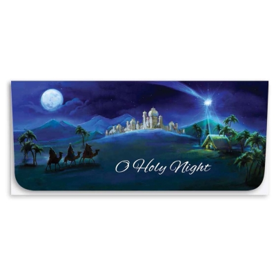 """""""O Holy Night"""" Currency Envelope - 3 Wise Men"""
