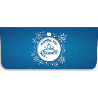 """""""Wishing You Merry Christmas"""" Currency Envelope - Ornament"""