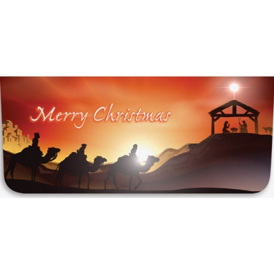 """""""Merry Christmas"""" Currency Envelope - Nativity Scene"""