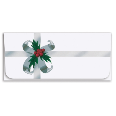Currency Envelope - Silver Ribbon
