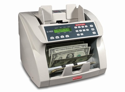 Semacon S-1615 Currency Counter with UV Counterfeit Detection