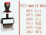 Line Dater Stamp - 2024 (Phrase/Date)
