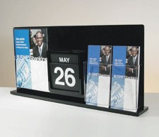 All-In-One Display, Black/Clear Acrylic
