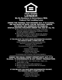 Equal Housing Lender, National Banks - Magnetic