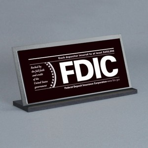 FDIC Counter Signs