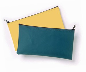 Laminated Nylon Zipper Wallet  Bag