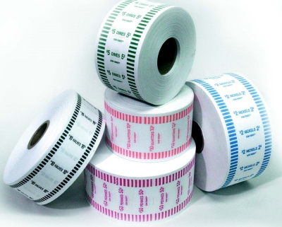 1000Ft Auto Coin Wrapper Rolls - Pennies