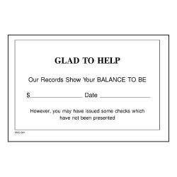 Account Balance Slip
