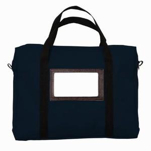 "18"" x 14"" x 4""  Briefcase Style Transport Bag - Laminated Nylon"