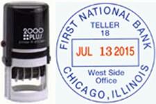 Self-Inking Dater/Teller Stamp - PR40 Dater