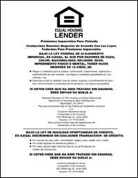Equal Housing Lender, National Banks - SPANISH