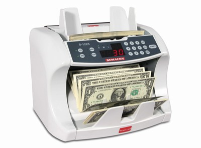 S-1215 Semacon Currency Counter with UV Counterfeit Detection
