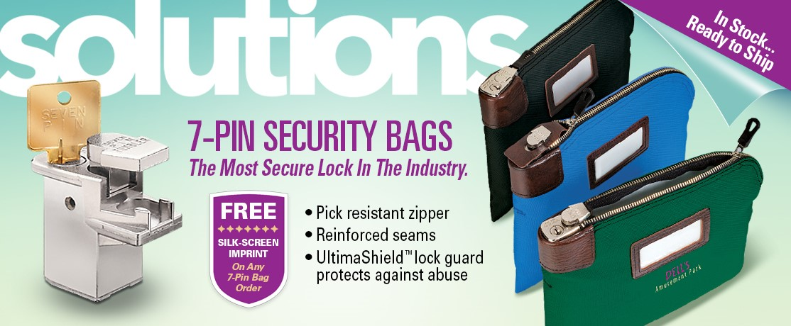 7 Pin Locking Bank Bags